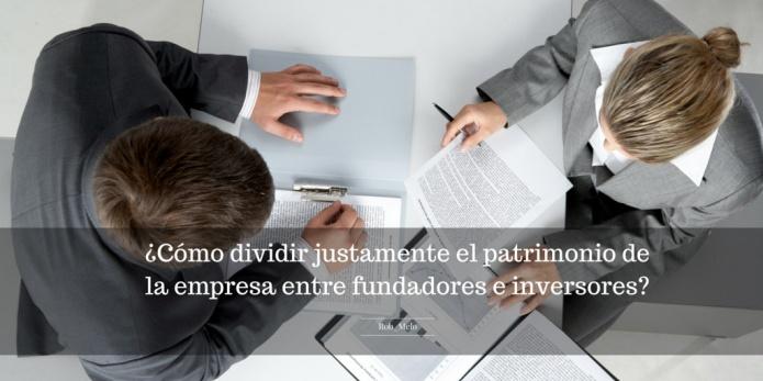 Patrimonio entre fundadores e inversores